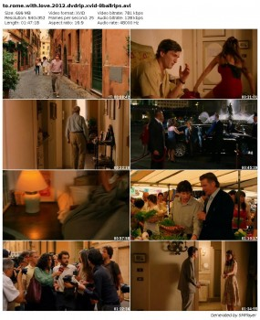 Zakochani w Rzymie / To Rome With Love (2012) DVDRip.XviD-8BaLLRiPS