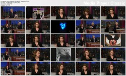 Tina Fey @ Late Show w/David Letterman 2012-10-03