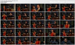 Salma Hayek @ Late Night w/Jimmy Fallon 2012-10-12