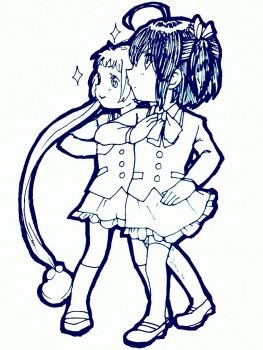 动漫 简笔画 卡通 漫画 手绘 头像 线稿 630_630