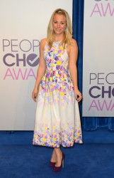 Kaley Cuoco @ People's Choice Awards Nominations Announcements In LA November 15, 2012 HQ x 3