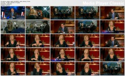 Claire Danes @ The Colbert Report 2012-03-01