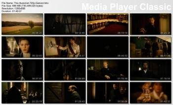 Download The Illusionist (2006) BluRay 720p 700MB Ganool