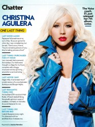 Christina Aguilera x1 People (US) 2012-11-26