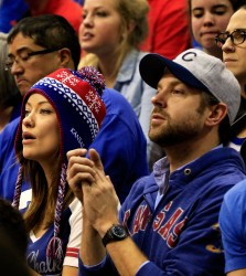 Olivia Wilde - at American vs Kansas basketball game in Lawrence, Kansas 12/29/12