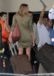 LeAnn Rimes - arrives in Los Cabos 12/30/12