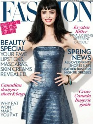 Krysten Ritter - Fashion Magazine Feb 2013