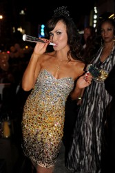 Karina Smirnoff Hosting New Year's At The Catalina In Miami December 31, 2012 HQ x 11
