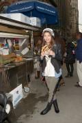 Zendaya Coleman - visits the Now & Zen showroom in NYC 12/20/12