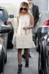 Ashley Tisdale - out in LA 3/27/13
