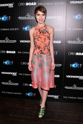 Sami Gayle - 'The Host' screening in NYC 3/27/13