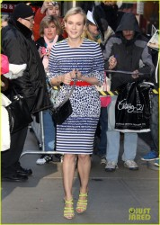Diane Kruger - at GMA studios in NYC 3/28/13