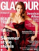Jessica Alba - Glamour UK May 2013