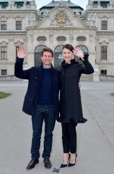 Olga Kurylenko - 'Oblivion' photocall in Vienna 4/2/13