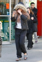 Amanda Bynes - out in NYC 4/3/13