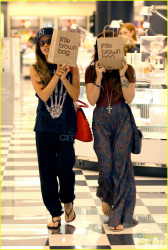 Vanessa Hudgens & Ashley Tisdale - Shopping in Studio City 4/3/13