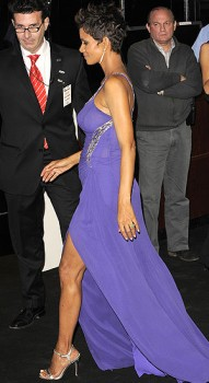 Halle Berry - Looking Sexy In Purple At The Argentina Premiere of &amp;quot;The Call&amp;quot; (4/11/13) Some Tagged....