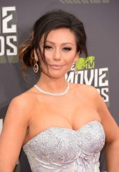 "Jenni ""J-woww"" Farley - 2013 MTV Movie Awards 4/14/13"