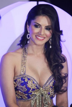 Sunny leone photocall at XXX energy drink photoshoot Mumbai