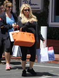 Jessica Simpson - Shopping in West Hollywood 4/17/13