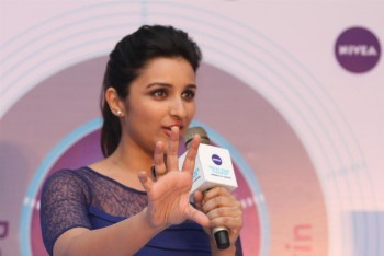 Parineeti Chopra unveils Nivea total face cleanup in Mumbai