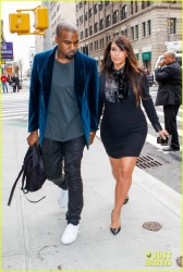 Kim Kardashian - Out and about in NYC 4/23/13