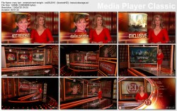 MARY HART - entertainment tonight - oct28,2010 - lowcut,cleavage