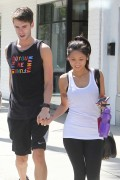 Brenda Song leaving a Gym in Los Angeles 4/25/13