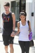 Brenda Song leaving a Gym in Los Angeles 4/25/13