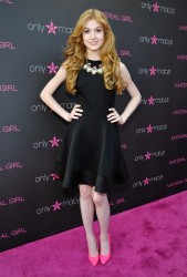 Katherine McNamara - Madonna pop up exhibit in Century City 4/25/13