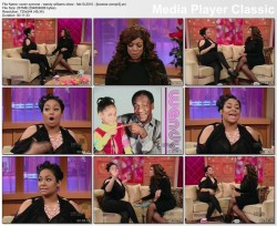RAVEN SYMONE - wendy williams show - february 10, 2010