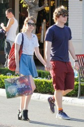Emma Roberts - at The Grove in LA 4/29/13