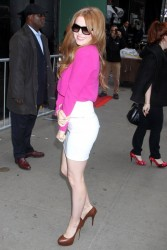 Isla Fisher - at Good Morning America studios in NYC 4/30/13