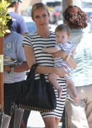 Kristin Cavallari and her babyboy in LA