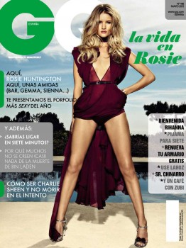 Rosie Huntington Whiteley - GQ Spain May 2013
