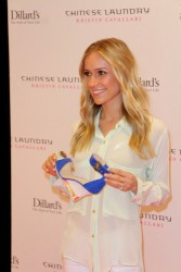 Kristin Cavallari - Launching her shoe line in Las Vegas 5/4/13