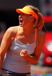 Maria Sharapova - Mutua Madrid Open Day 3 in Madrid 5/6/13