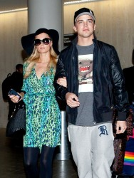 Paris Hilton - at LAX Airport 5/5/13