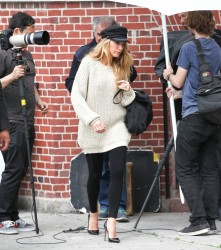 Blake Lively - At a photo shoot in NYC 5/7/13