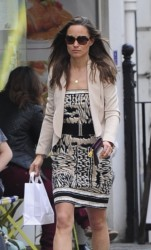 Pippa Middleton - out in London 5/7/13