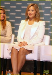 Demi Lovato - National Childrens Mental Health Awareness Day in Washington D.C 5/7/13