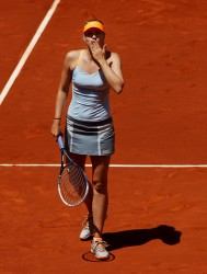 Maria Sharapova - Mutua Madrid Open Day 8 in Madrid 5/11/13