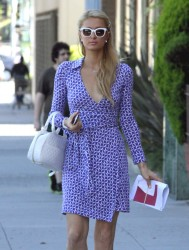Paris Hilton - out in Beverly Hills 5/13/13