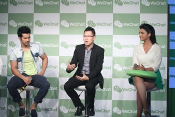 Parineeti Chopra @ Wechat event