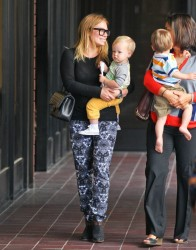 Hilary Duff - Taking her son to baby class in Studio City 5/15/13
