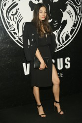 Jessica Gomes - Versus Versace launch in NYC 5/15/13
