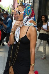 Rihanna - Leaving her hotel in NYC 5/16/13
