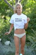Denise Richards - bikini bottom - Beverly Hills Hotel - May 16, 2013 - (HQ x 19)