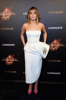 Jennifer Lawrence The Hunger Games Catching Fire Party 12