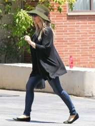 Fergie - Going to church in Santa Monica 5/19/13